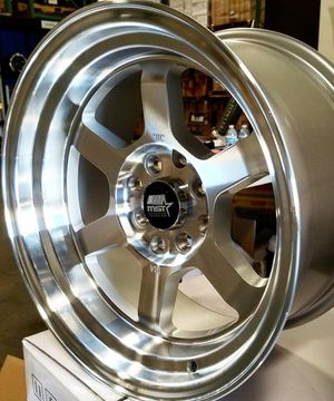 "New 15"" mst rims for Sale in Huntington Park, CA"