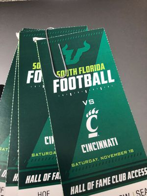 4 Tickets HOF Club Free Food and Alcohol for Sale in Land O Lakes, FL