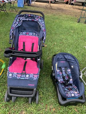 Cosco baby stroller and car seat for Sale in Dallas, TX