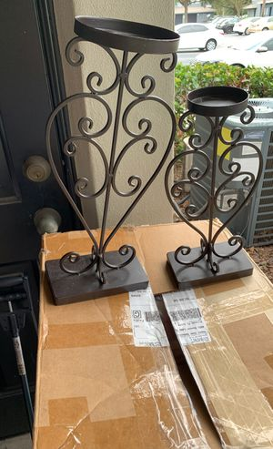 Candle holders set for Sale in Orlando, FL