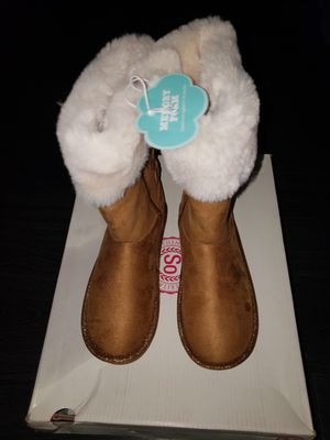 NEW- Tan SO Boots size 1 youth Memory Foam for Sale in Renton, WA