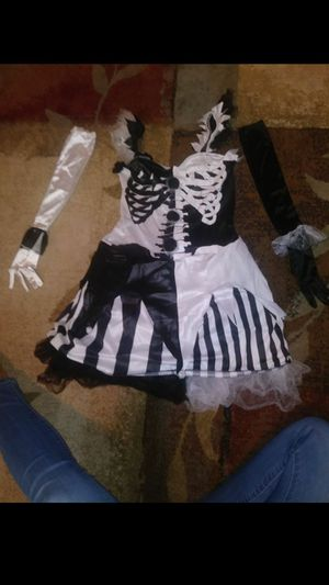Skelequin and Harlequin Halloween Costumes for Sale in Clermont, FL