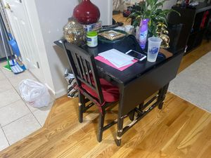 Small Folding Table and two chairs for Sale in Englewood, NJ