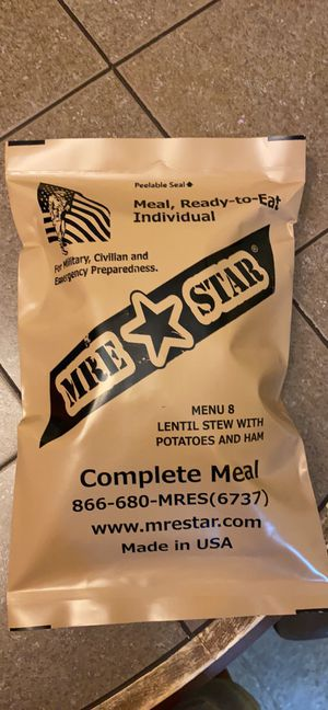 MRE complete meal for Sale in Brooklyn, NY