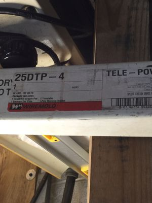 Wiremold power pole 25DTP-4 for Sale in Orland Park, IL