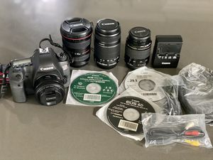 Canon EOS 6D DSLR with 4 lenses pkg- excellent condition! for Sale in Euless, TX