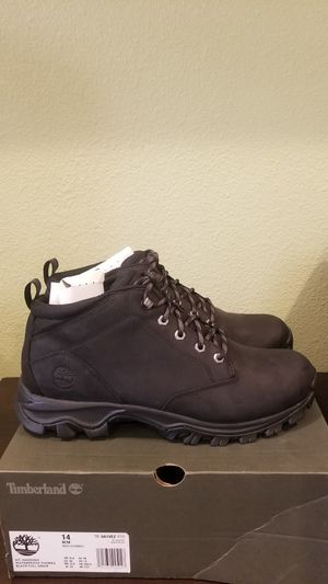 TIMBERLAND MEN'S MOUNT MADDSEN CHUKKA HIKING BOOTS TB0A1VEZ015 (SIZE 14M) for Sale in Riverside, CA