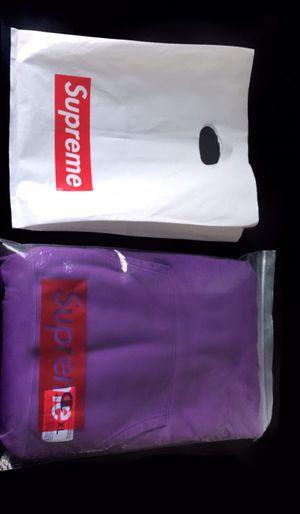 XL Purple Champion X Supreme Hoodie for Sale in Springfield, VA