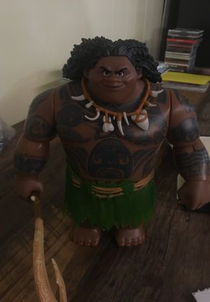 Talking Maui (Moana) Toy for Sale in Alexandria, VA