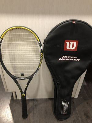 Wilson Hyper Hammer Carbon. Very Light! Well made, used only 3 times! for Sale in Newton, MA