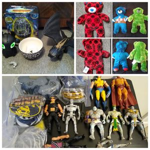 Action figures toy lot for Sale in Waterbury, CT