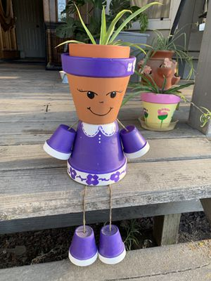 Garden pot person for Sale in Madera, CA