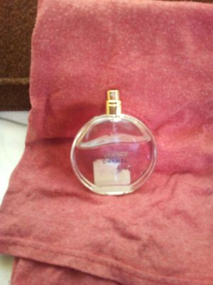 Chanel chance women's perfume 3/4 full for Sale in San Bernardino, CA