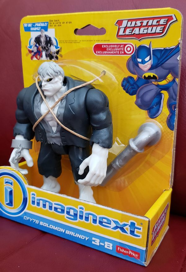 DC Comics Collectibles Imaginext Justice League SOLOMON GRUNDY Figure Toy Target Only Exclusive Fisher-Price Batman @2014