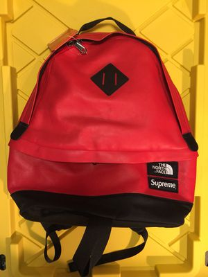 Supreme x North Face Leather Backpack for Sale in Silver Spring, MD