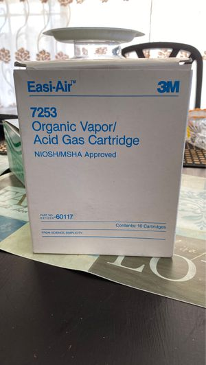 organic vapor acid gas cartridge for Sale in Compton, CA