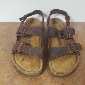 Birkenstock Milano Oiled Leather Sandals for Sale in Denver, CO