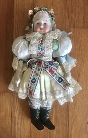 "ANTIQUE ALPINE SWISS FOLKLORE DOLL 13"" for Sale in Pittsburgh, PA"