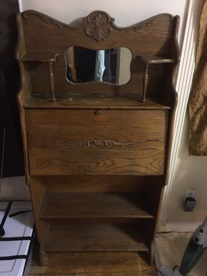Antique Wood Secretary for Sale in College Park, GA
