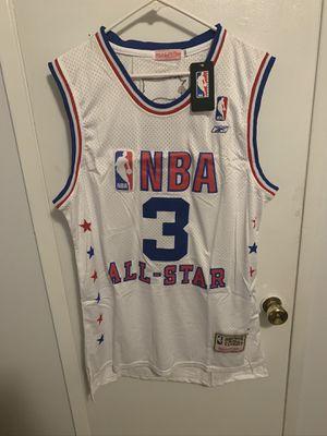 Allen Iverson #3 white all star game jersey for Sale in San Fernando, CA
