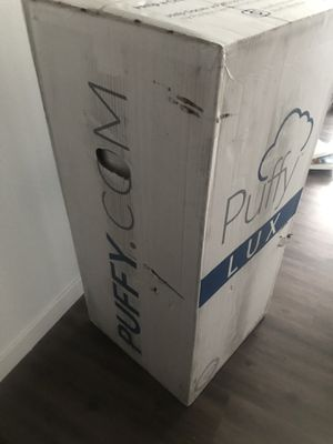 PUFFY mattress- lux edition- KING SIZE for Sale in Portland, OR
