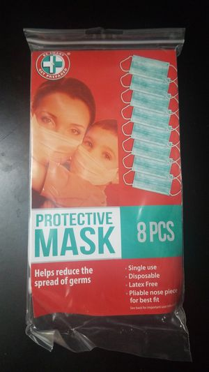 Protective Face Mask (8pcs) for Sale in Rosemead, CA