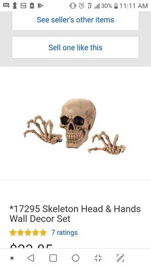Skelton head home decor for Sale in Phoenix, AZ