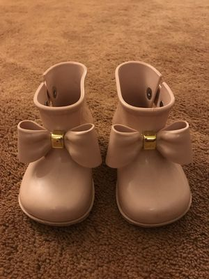 Mini Melissa baby girl boots size US6 for Sale in Bayonne, NJ