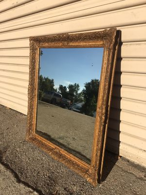 Gilt wood mirror for Sale in Whittier, CA