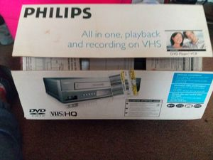 PHILIPS VHS/DVD player/recorder for Sale in Pottsville, PA