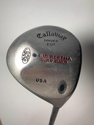Callaway Big Bertha Driver ( golf ) for Sale in Bakersfield, CA