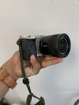 Sony a6000 camera for Sale in San Antonio, TX
