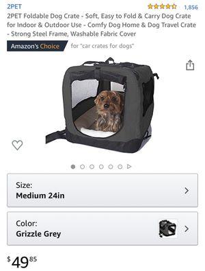 2pet foldable dog crate for Sale in Phoenix, AZ
