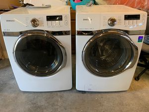 Samsung front load- washer and dryer for Sale in Tacoma, WA