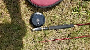 Fly fishing rod, reel, and case for Sale in Auburn, WA