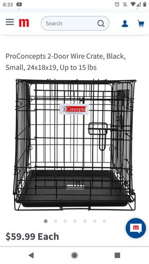 "24"" Two-Door Dog Crate for Sale in Redmond, WA"