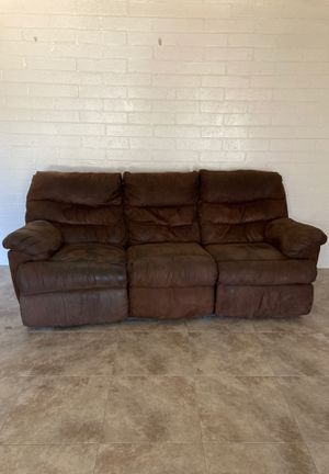 Reclining couch for Sale in Redlands, CA