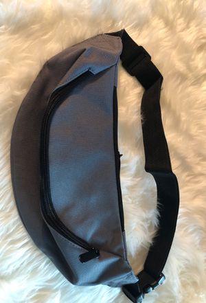 Grey Fanny Pack Waist Belt Zip Pouch for Sale in Baton Rouge, LA