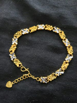 Bracelets silver and gold mix colour for Sale in Moreno Valley, CA