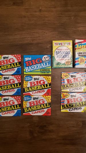 Baseball Wax Pack Lot - New! Look! for Sale in Yardley, PA