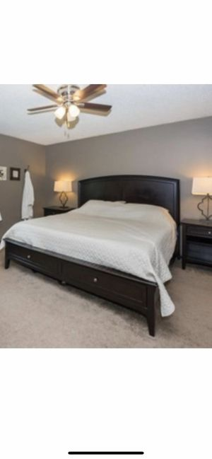King size bed frame for Sale in Lakeville, MN