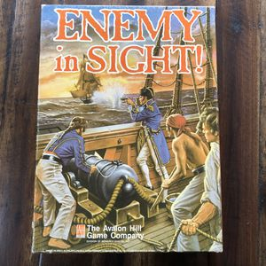 Vintage 1988 Avalon Hill Board Game Enemy In Sight! 877 complete for Sale in Vancouver, WA