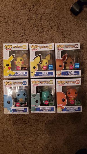 Funko Pop Flocked Pokemon set for Sale in Newberg, OR