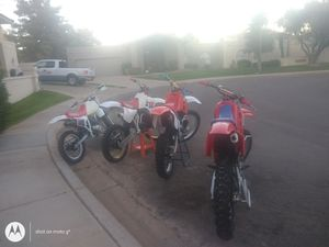 Vintage dirt bikes not for sale for Sale in Paradise Valley, AZ