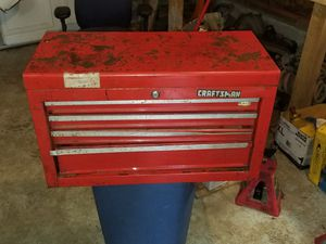Vintage craftsman tool box for Sale in Everett, WA