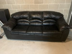 Leather Couch for Sale in Fairview, PA