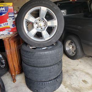 "20"" OEM Chevy / GMC 6 Lug Wheels / Rims for Sale in Aurora, IL"