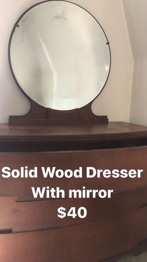 Solid Wood Dresser for Sale in Perth Amboy, NJ