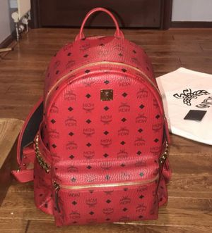 Red mcm bag and towel for Sale in Las Vegas, NV