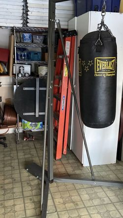 Everlast Punching Bag Stand/Speed Bag Holder for Sale in Garden Grove,  CA
